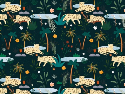 Jungle pattern 🌿