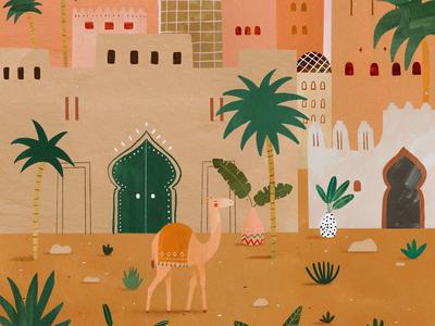 Moroccan vibes 🌴☀️🧡