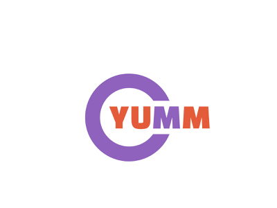 Granola Bar Yumm 01 yumm granolaba brand vector logo design branding dailylogochallenge