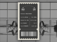 Daily UI 024 : Boarding Pass