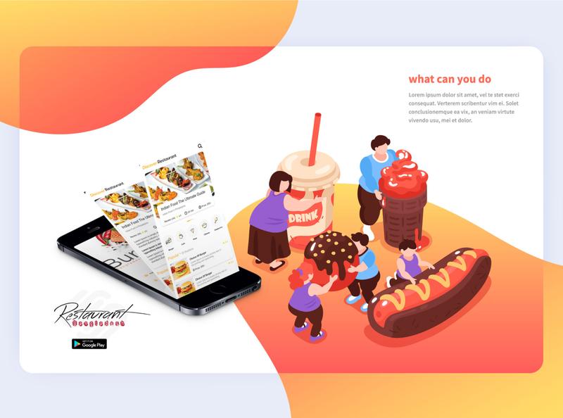 Restaurant apps ׀ UI Design