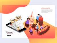 Restaurant apps ׀ UI Design