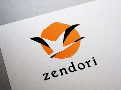 Zendori green tea zen life brand identity logo matcha zendori