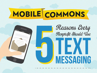 5 Reasons Every Nonprofit Should Use Text Messaging