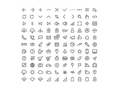 Ecommerce Icons ecommerce iconography icon icons