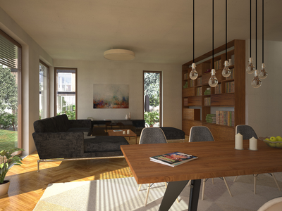 Interior Visualization for Domizil 3d generalist virtual photography 3d visualization interior design vray 3dsmax architecture interior visualization interior 3d-visualization 3d