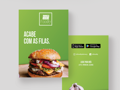 Foodfy App Flyer