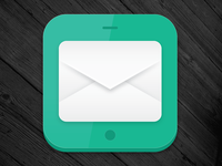App icon again - adjusted some envelope shadows