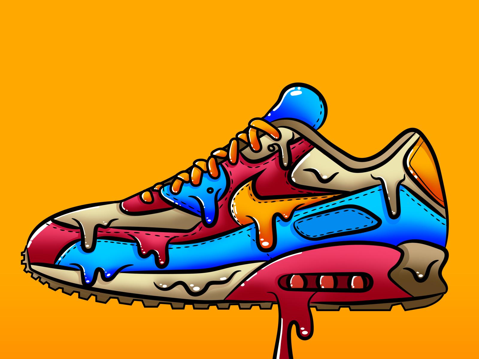 Nike Drip Sneaker By Munashe Dominic Fudge Mabvoro On Dribbble