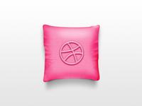 dribbble pillow