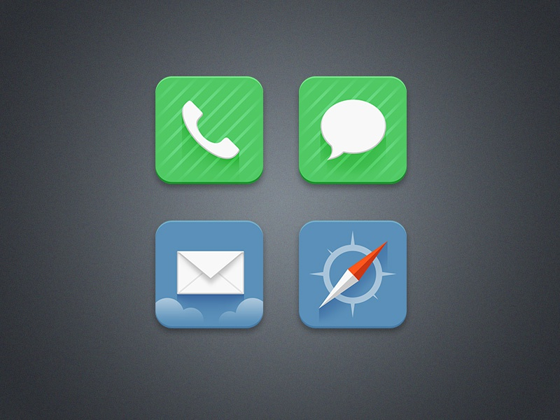 iOS icon redesign ios icon