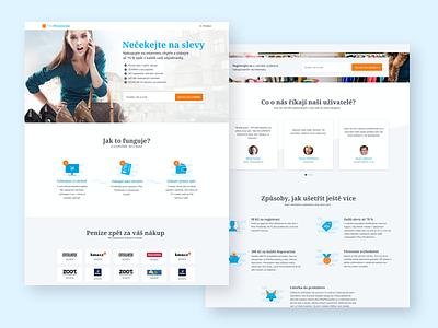 PlnaPeněženka website web design webdesign landing design web landing page design landing page landingpage