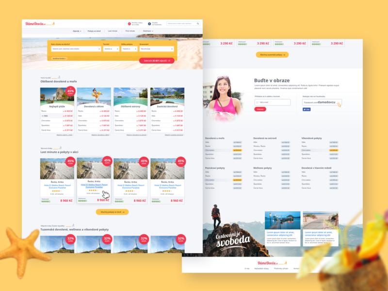 DameDovcu website design web design webdesign website web holiday vacation