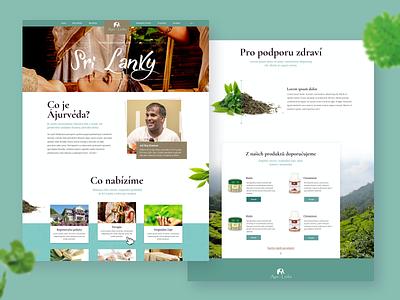 AyurLanka sri lanka tea design website design web design webdesign website web