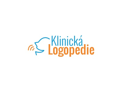KlinickaLogopedie icon typography brand design illustration vector branding logo