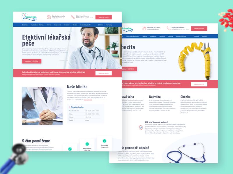 UzdravímeVás design branding website design web design web webdesign website