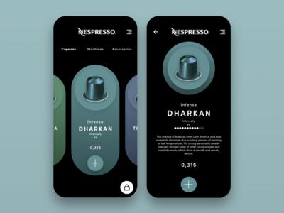 Nespresso Store Mobile App