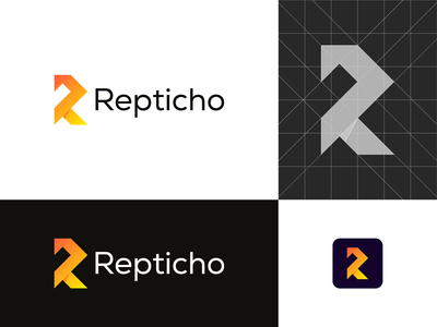 Repticho vector branding brand logo design graphic design modern minimal logo identity brand design logobrand logoinspiration logocreation modernlogo
