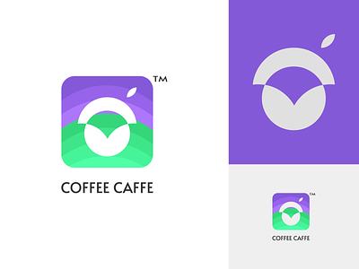coffee caffe modern minimal logo brand brandidentity coffe logo coffee shop coffee caffe concept color