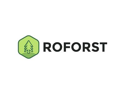 approved logo (ROFORST) logo brand identity brand branding graphic design logo design design vector minimal modern
