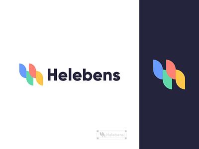 Helebens logo vector typography brand identity brand branding graphic design logo design minimal modern