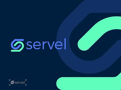 servel identity design logo brand brand identity branding graphic design logo design minimal modern servel