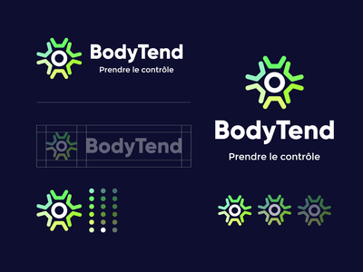 Bodytend (approved) identity logo typography brand identity branding brand graphic design logo design minimal modern