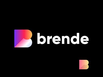 brende brand design vector graphic design illustration logo design brand identity minimal modern branding brende