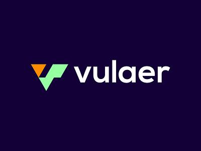 vulaer vector identity vulaer logo brand identity branding brand graphic design logo design minimal modern