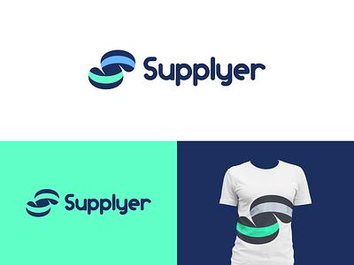 Supplyer Logo Design ui playful supplyer fun s logo supplyer logo design illustration design logo branding brand graphic design logo design minimal modern