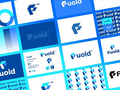 Fould logo guideline guideline f mark ui illustration design logo branding brand graphic design logo design minimal modern