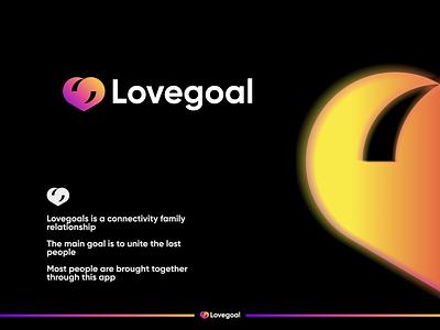 Lovegoal logo for sell typography bold brand identity illustration identity designe design logo logo design graphic design modern minimal brand branding love mark creative logo lovegoal love symbol heart goal love icon