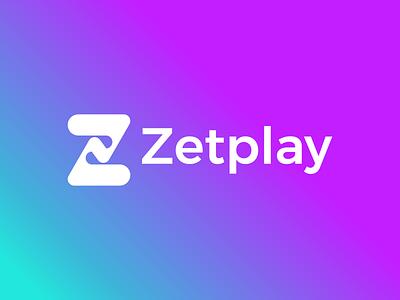 Zetplay Logo creative ui illustration design logo branding brand graphic design modern logo design minimal