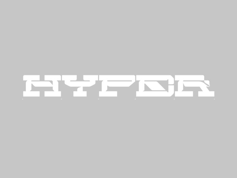HYPER Custom Logotype