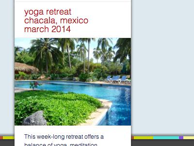 Boler Yoga Retreats promo yoga promo sidebar