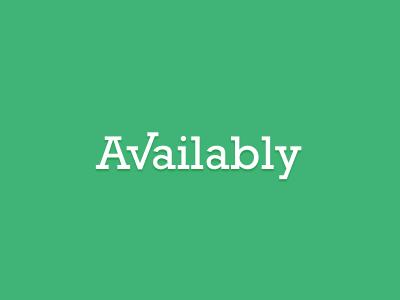 Availably availably logo wordmark