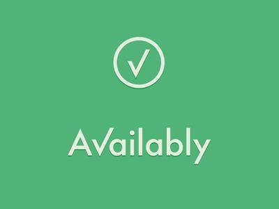 Availably / Check+Circle wordmark logo checkmark green