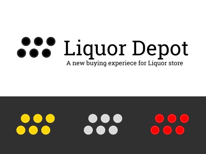 Logo for a liquor store concept