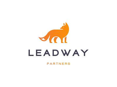 Leadway Partners Logo Design investor investment finance orange fox partner partners logo design brand identity symbol icon minimal brand logodesign branding design logo
