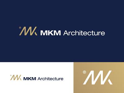 MKM Architecture Logo Design architectural architect architecture logo design brand identity symbol icon brand minimal logodesign design branding logo