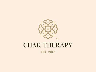 Chak Theraphy Logo Design yoga studio yoga chakra meditation logo design brand identity symbol icon brand minimal logodesign design branding logo