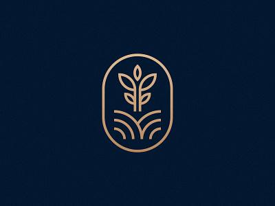 Ferment Organics Logo Design leaf organic logo design brand identity symbol icon brand minimal logodesign design branding logo