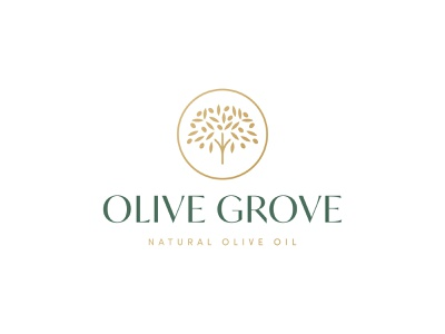Olive Grove Logo Design grove olive grove olive oil olive tree olive logo design brand identity symbol icon brand minimal logodesign design branding logo