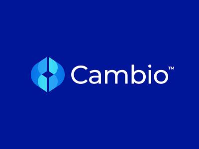 Cambio Logo Design bank app cash bank money logo design brand identity symbol icon brand minimal logodesign design branding logo
