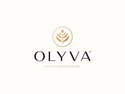 Olyva Logo Design olives olive oil olinve logo design brand identity symbol icon brand minimal logodesign design branding logo