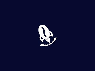Rocket Coffee rocket coffee bean astrology space coffee illustration logo design symbol vector logodesign brand icon branding design logo