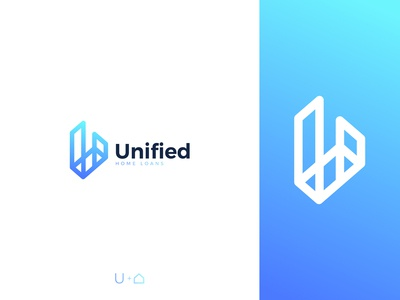 Unified Home Loans Logo Design