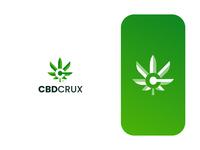CBD Crux Logo Design