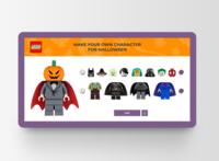 Halloween Lego character