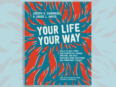 Your Way Your Life metaphors fun sketch illustrator ai branding workbook teens blackandwhite procreate design characterdesign illustration